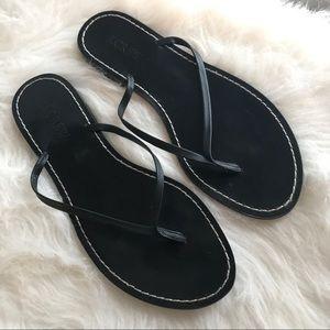 J Crew flip flop thong sandals